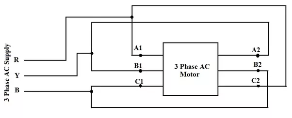 3 phase induction motor star delta connection diagram pdf