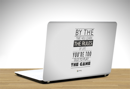 which is the best website to buy quotes laptop skins