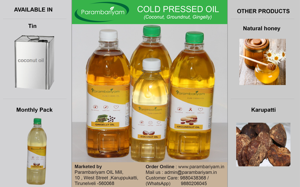 Why Parambariyam Coconut Oil Is The Best