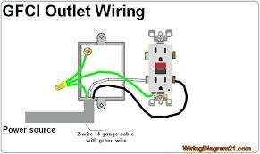 110v Gfci Wiring - Wiring Diagram Sheet  Wire Gfci Wiring Diagrams on