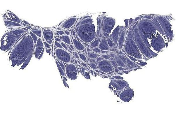 Map Of The Us Population Density - Us-map-by-population-density