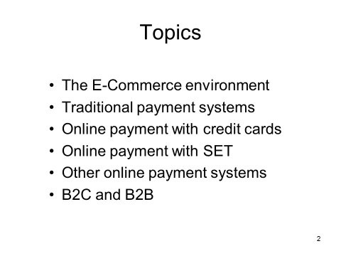 What is the best topic for a commerce student for a presentation