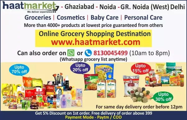 what online grocery website is the most popular and best in delhi