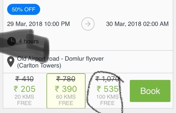 What Does Free Kilometers In Zoomcar Mean Quora