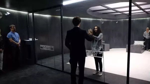 How Could Eurus Make The Glass Door Transparent In The First Part Of
