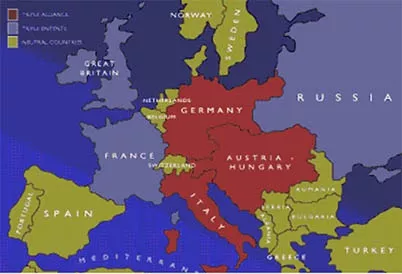 what were the causes of ww1 The triggering event cause of world war i was the assassination of  that the  alliance treaties were strong factors for the escalation of the war to.