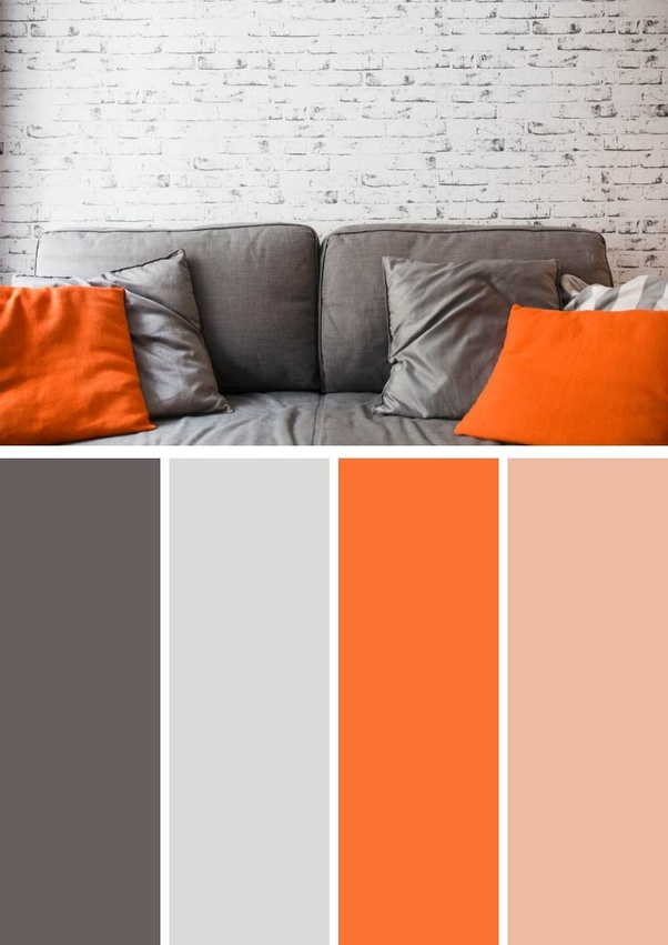 What Colors Match With Orange And Grey Quora