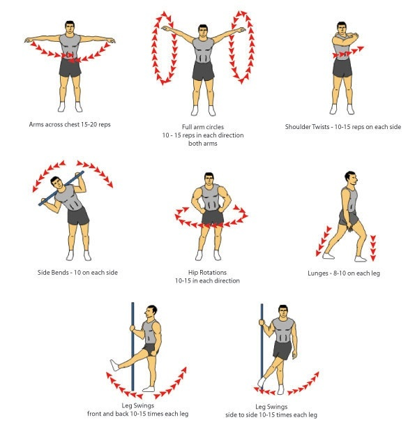 How To Do Stretching Before And After Gym
