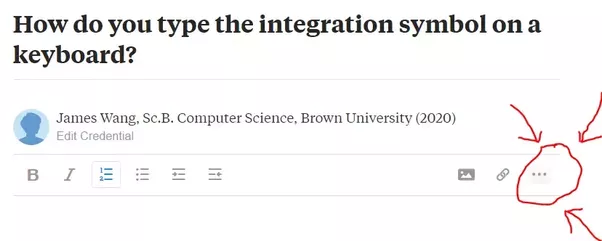 How To Type The Integration Symbol On A Keyboard Quora