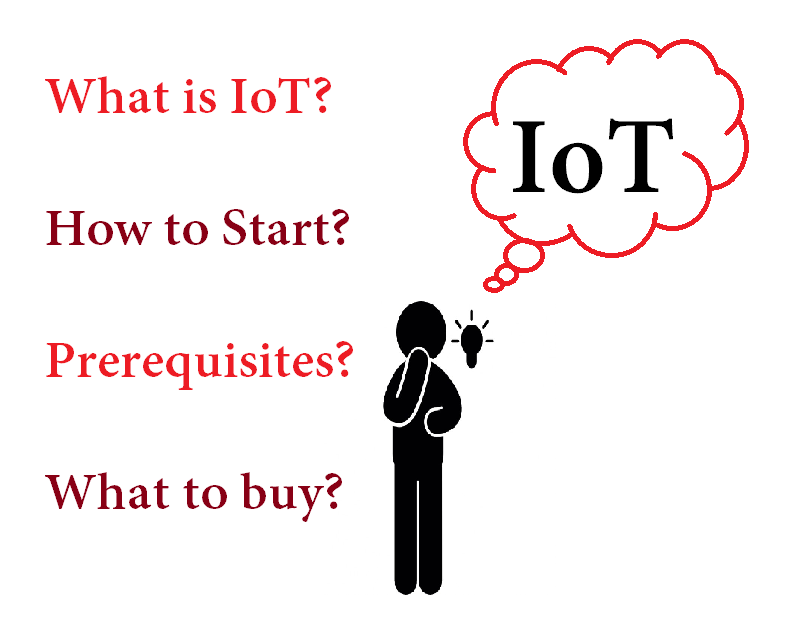 I want to make a project on the IoT (Internet of Things)  How do I