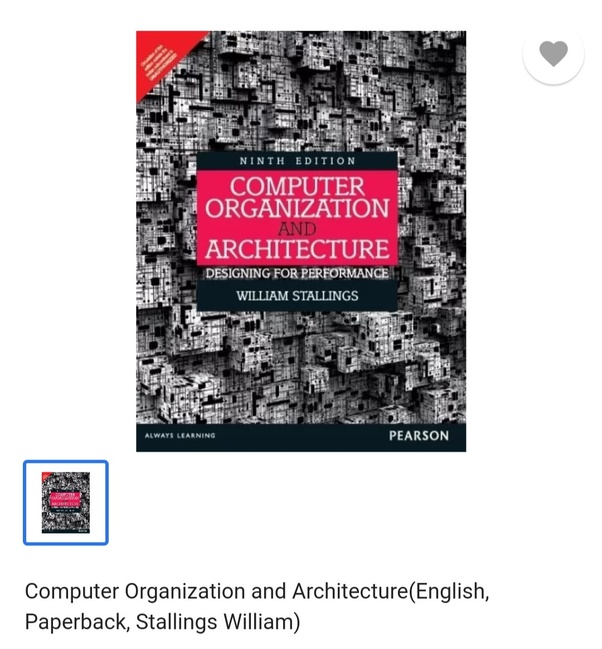 Which Are The Best Books For Computer Architecture And Organization Quora