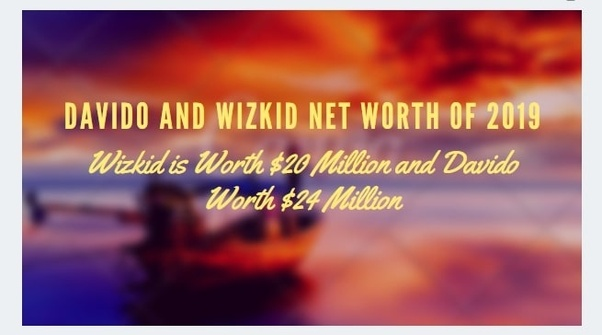 Who is the richest based on net worth, Wizkid or Davido? - Quora