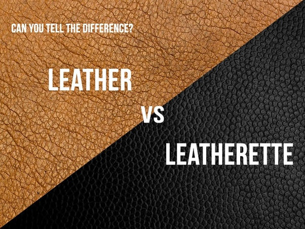 Miraculous What Is The Difference Between Leather And Leatherette Quora Ibusinesslaw Wood Chair Design Ideas Ibusinesslaworg