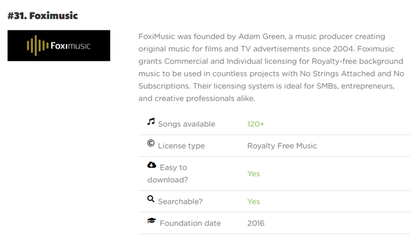 Any website for royalty free music for YouTube? - Quora