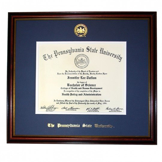 What Does A Penn State World Campus Diploma Look Like?