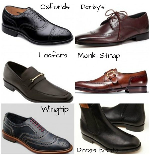 What are the different types of men formal dress shoes ...