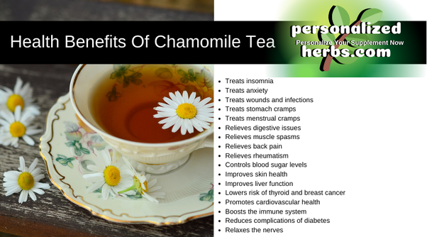 What Benefit Has One Experienced From Chamomile Tea Quora