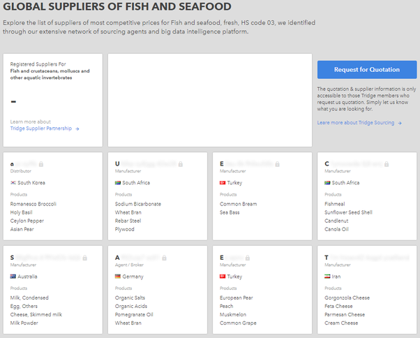 Seafood Exporters
