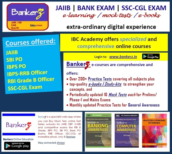 Which is the best book for a bank exam in english quora visit e book mock test online test series jaiib dbf bank po rbi b grade bankerz to know more about the various courses and e books available fandeluxe Choice Image