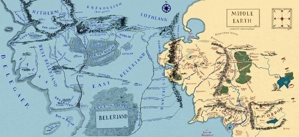 of all the lands of beleriand only the very top of a large hill called himring survived the end of the first age above water to become a small island