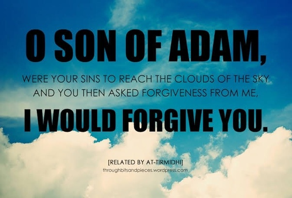 How can someone who committed adultery seek for forgiveness  Is he