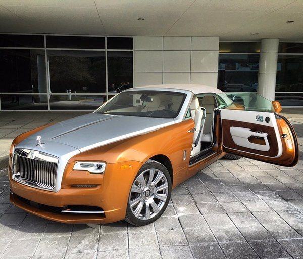 what are the best colour combinations you have seen on a rolls-royce
