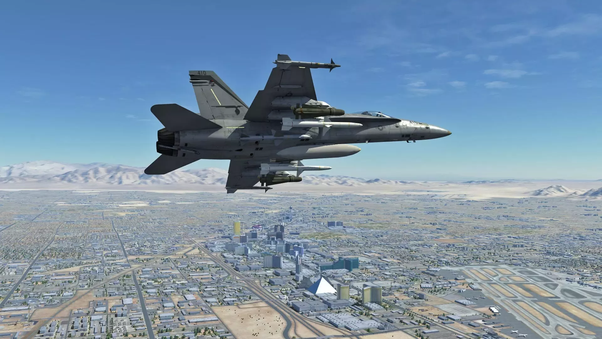 Which is the most realistic fighter jet flight simulator on