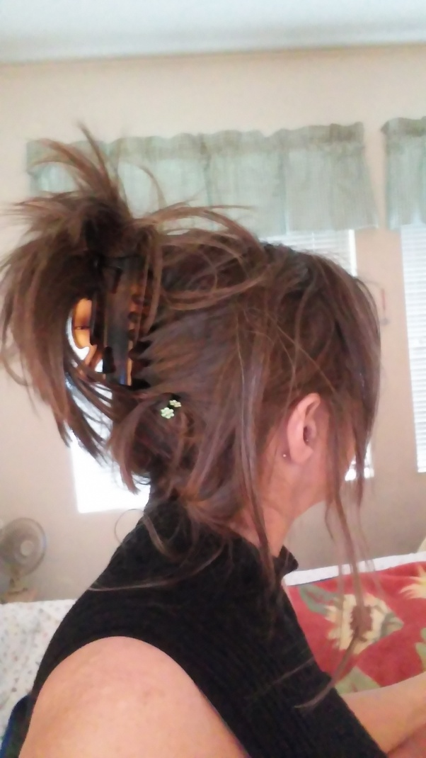 I Want To Keep My Hair Tied Up All The Time As A Hairstyle I Like