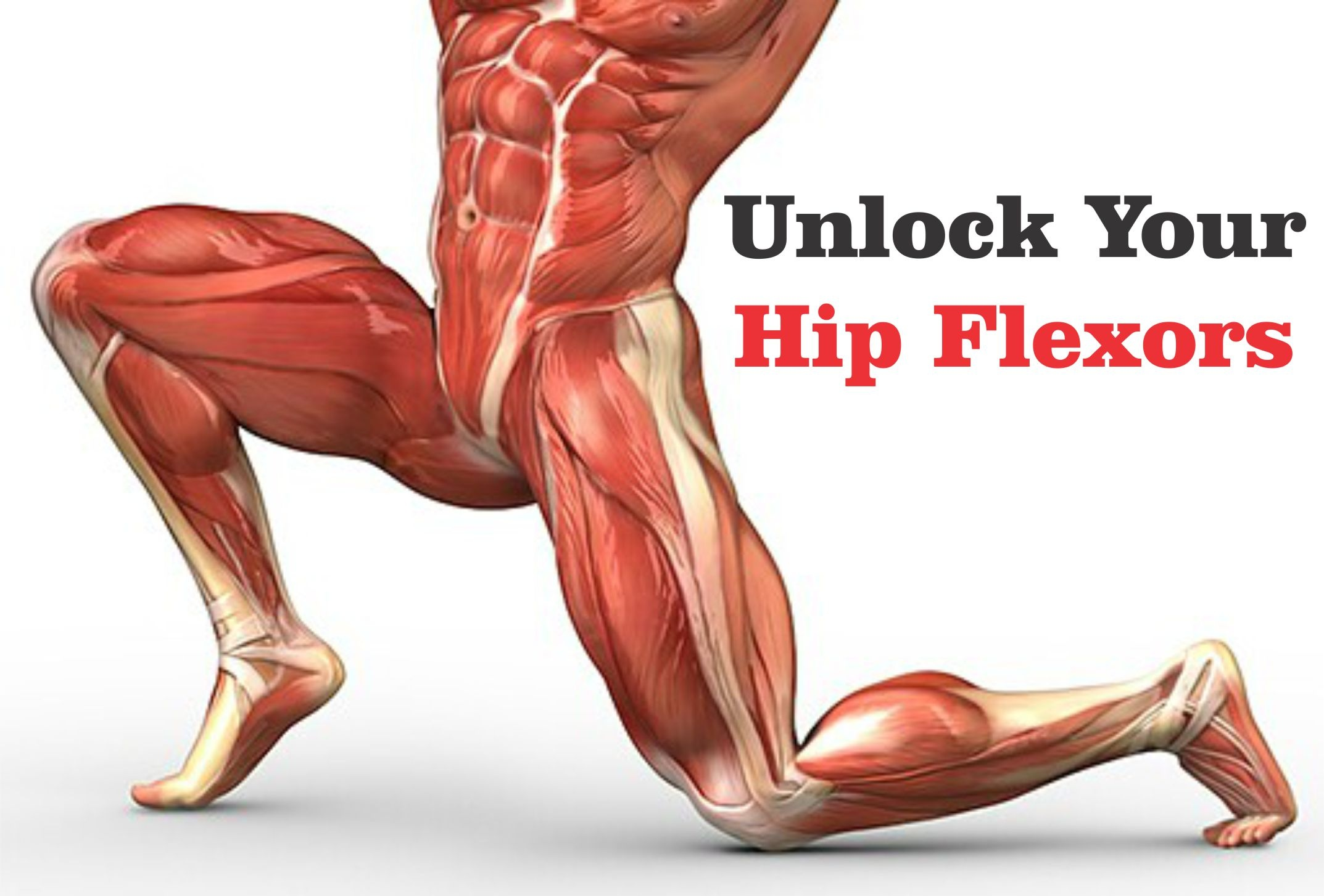 Lunging Hip Flexor Stretch