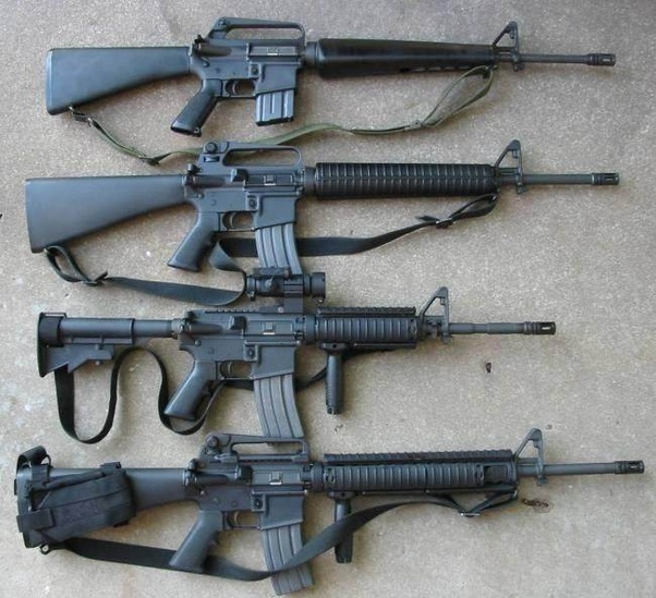 How is the FN Scar compared to the M16 and M4 rifles? - Quora
