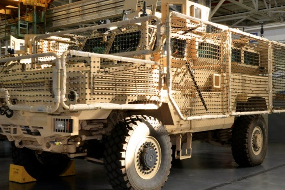 does the us have any military vehicles capable of what the african