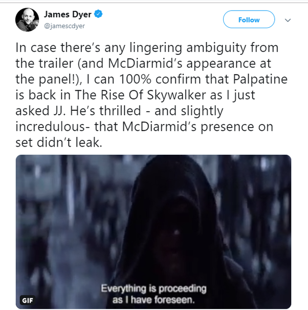 Is Palpatine Really Dead In Star Wars The Rise Of Skywalker Quora