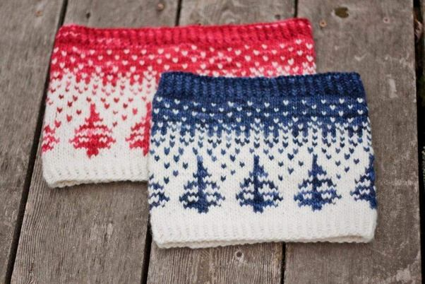 How to knit with multiple colors - Quora