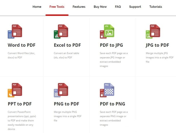 What is the best online free tool for converting PDF to