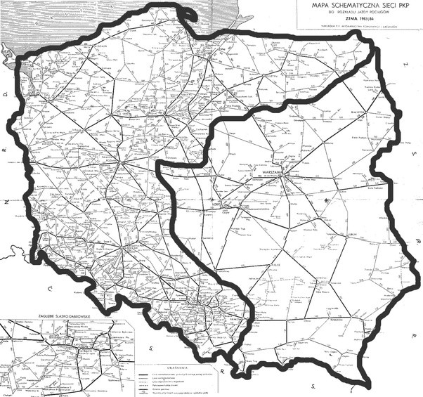 this even has a sociopolitical legacy heres the 2007 polish electoral map with 1914 germany superimposed