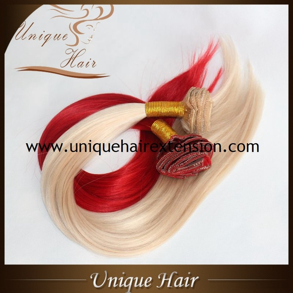 How To Dye Synthetic Hair Extensions Quora