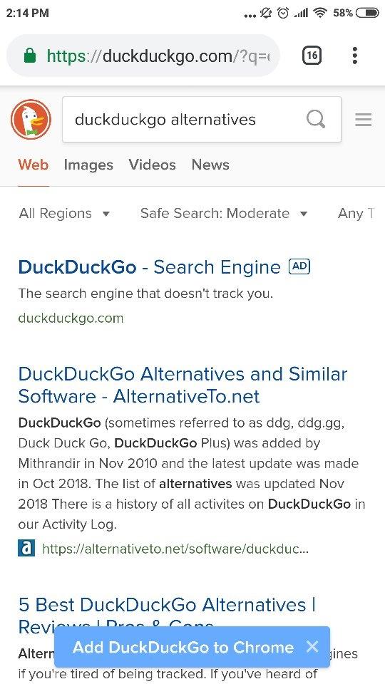 Why do people still prefer Google over DuckDuckGo? - Quora
