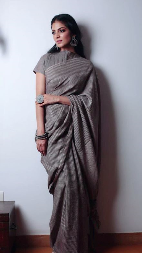 5b940f56f What is can be tips for very skinny and tall girl to wear a saree ...