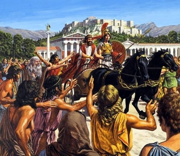 What was the rise of the tyrants in Ancient Greece? - Quora