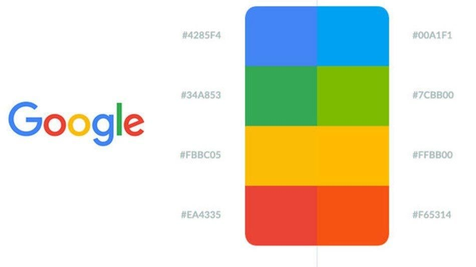 what is the significance of google s logo colors why did they