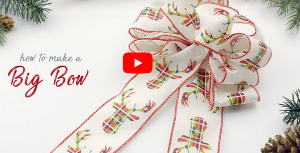 How To Tie A Christmas Bow.How To Make A Christmas Bow With Ribbon Quora