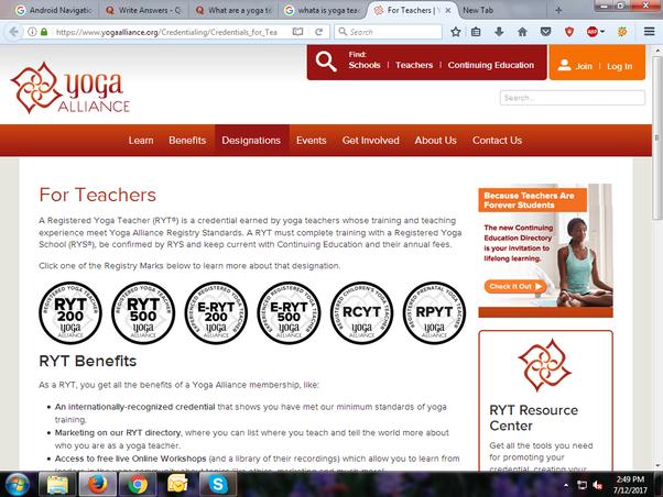 what are a yoga teacher training course, a yoga teacher ...