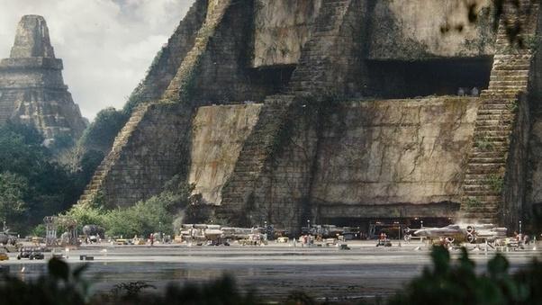 Star Wars épisode IV : un nouvel espoir - base de rebelle de Yavin