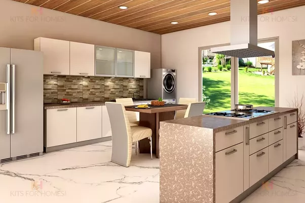 What is the best colour combinations for Modular Kitchen? - Quora