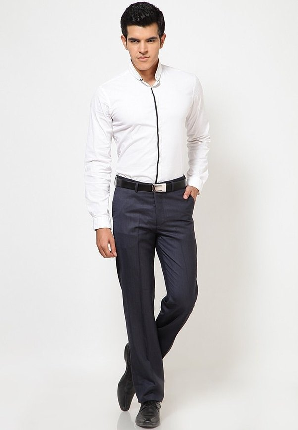 Which Pants Match The Best With A Grey Shirt? - Quora