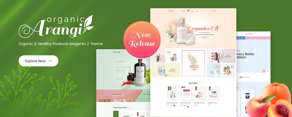 Arangi - Organic & Healthy Products Magento 2 Theme - Magento News