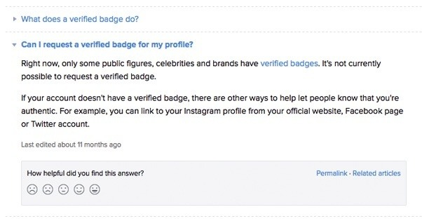 Can i add the blue tick in instagram as text quora hope i helped ccuart Choice Image