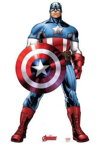 what marvel superhero has a star on their chest quora