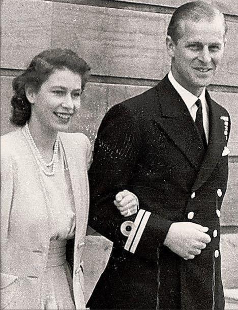 how did queen meet prince philip