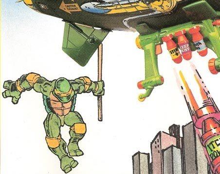 do the colors of the teenage mutant ninja turtles bandanas have